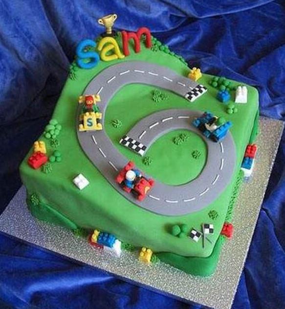 Автодром торт как сделать